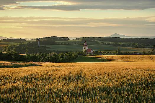 Landscape around Kostomlaty pod Ripem by Marek Ondracek