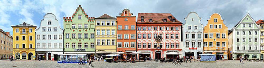 Landshut Altstadt Streetline by Joerg Dietrich