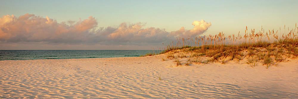 Brian Harig - Langdon Beach Sunrise 9 Panorama - Pensacola Beach Florida