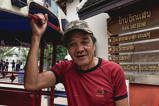 Laotian Man by Sabrina Pinksen
