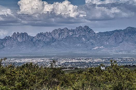Las Cruces, New Mexico skyline by Chance Kafka