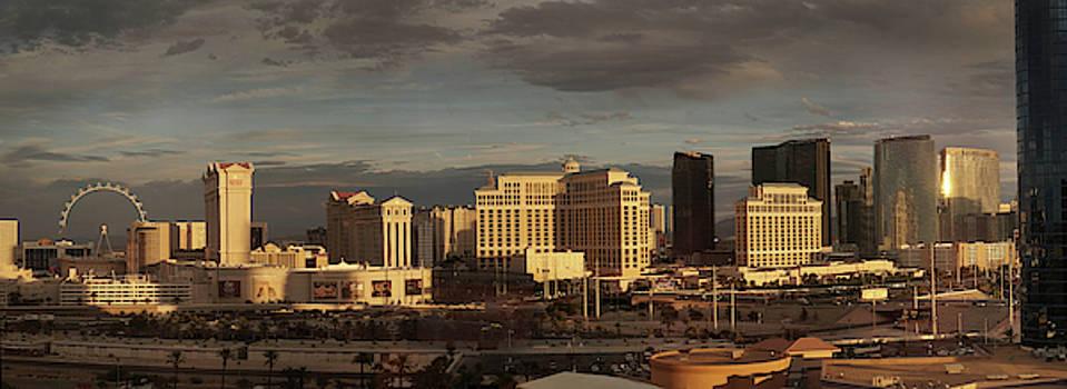 Las Vegas Skyline by Mark Langford