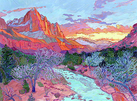 Last Light On The Watchman by Jessica Johnson