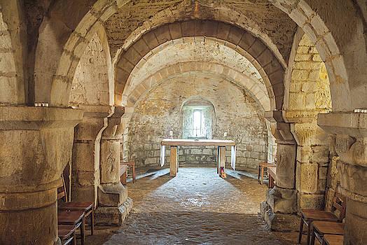 David Ross - Lastingham Church Crypt, Yorkshire