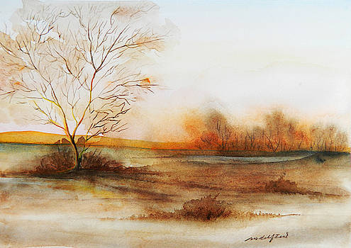 Late Fall Mood by Rowena Delfter