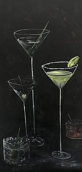 Late night cocktails by Chuck Gebhardt