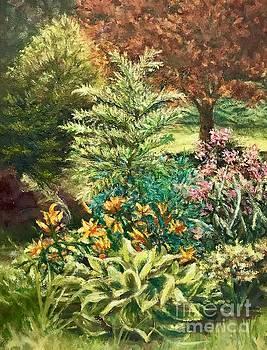 Late Summer Garden by Gail Allen