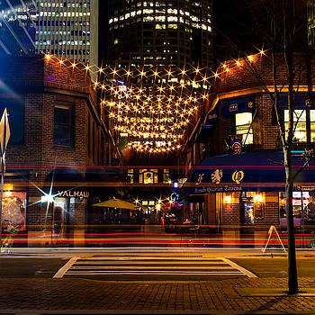 Latta Arcade Light Trails by Christine Buckley