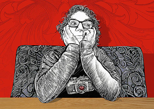 Laura Rojo Portrait by Doug LaRue