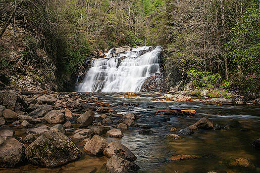 Laurel Falls in Spring I by Jeff Severson
