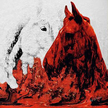 Mike Breau - Lava Flow and Lady Pumice-Equine Portrait