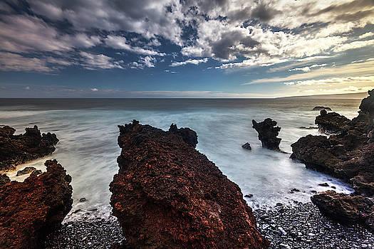 Lava Rock Beach  by Pierre Leclerc Photography