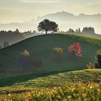 Layers of landscape by Marek Ondracek