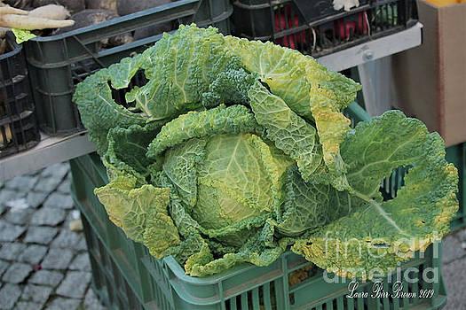 Leafy Greens at German Market by Laura Birr Brown