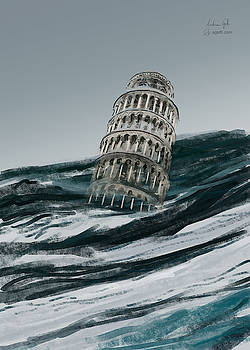 Andrea Gatti - Leaning Tower of Pisa paint1