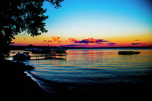 Leech lake by Stuart Manning