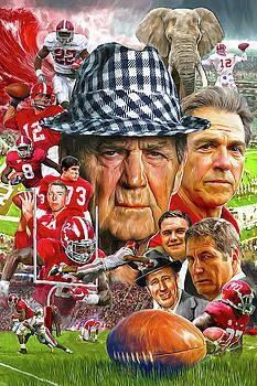 Alabama Football Legends by Mark Spears