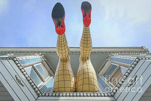 Legs of Haight Ashbury, San Francisco by Eddie Hernandez