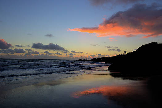 Leo Carrillo Sunset II by John Rodrigues