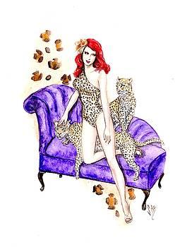 Leopard Lady by Sabina Mollot
