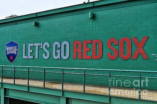 Let's Go Red Sox by SoxyGal Photography