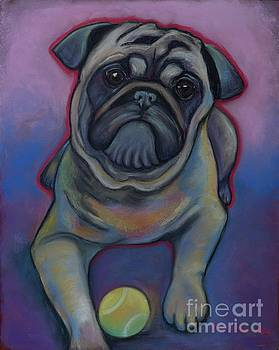 Lets Play Pug  by Ann Hoff