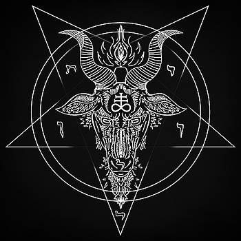 Leviathan Pentagram  by Zapista Zapista