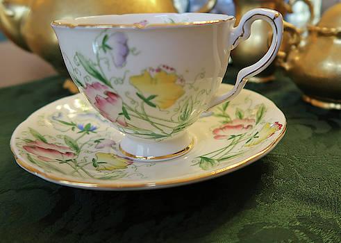 Levitating Teacup by Connie Fox