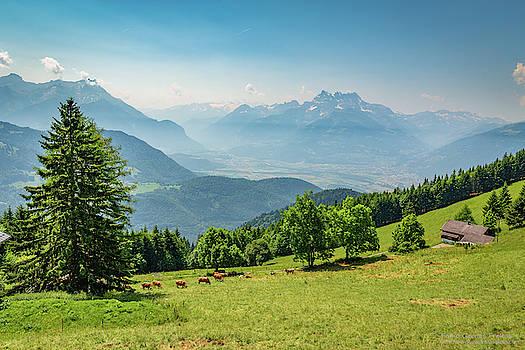 Leysin Alps by Fabio Gomes Freitas