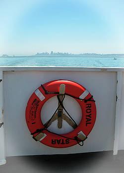 Connie Fox - Life Buoy on San Francisco Bay Ferry