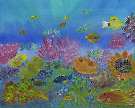 Life in the Coral Reef by Meryl Goudey