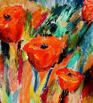 Life is About Flowers by Carol Stanley