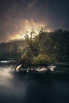 Light Burning over the Rhine by Manuel Martin