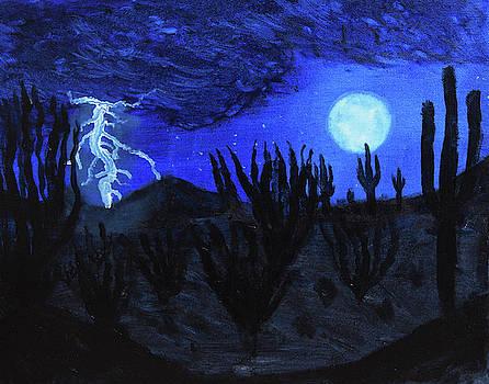 Chance Kafka - Light of the Desert Night