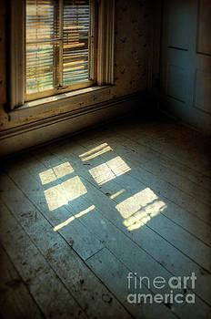 Light Through Shutters by Jill Battaglia