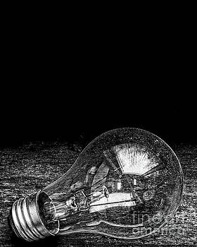 Edward Fielding - Lightbulb Black and White