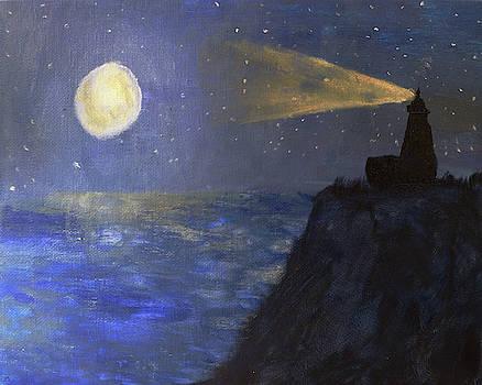 Chance Kafka - Lighthouse by Moonlight