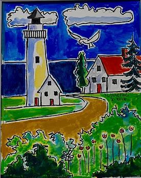 Lighthouse Garden by Nicholas Martori