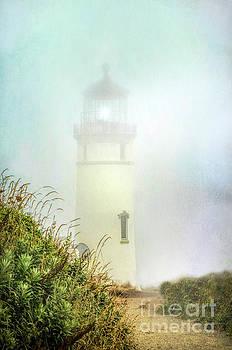 Lighthouse in Fog by Jill Battaglia