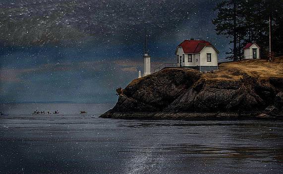 lighthouse San Juan by Jeff Burgess