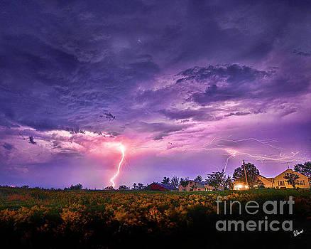 Lighting Maine Farm by Alana Ranney