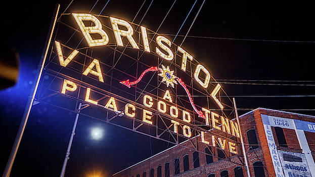 Lighting up the Bristol Sign by Greg Booher