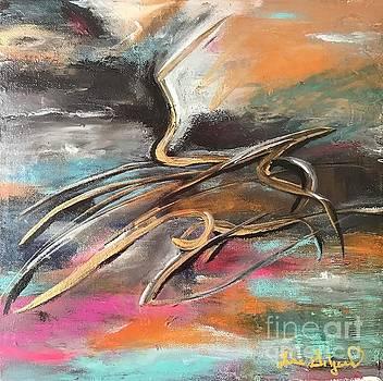 Lightning and Thunderbird  by Lisa Gilyard