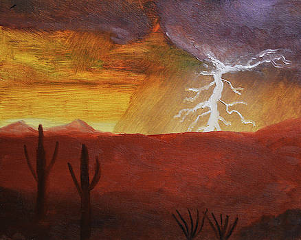 Chance Kafka - Lightning of the Arizona Monsoon