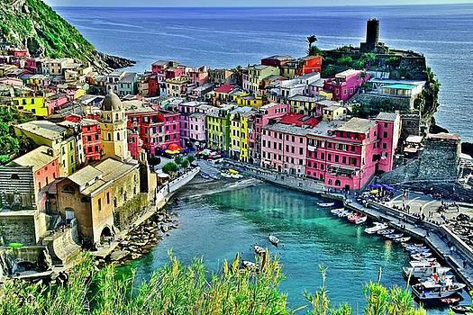Frozen in Time Fine Art Photography - Ligurian Seaside Gem
