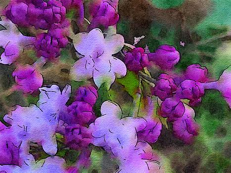 Bonnie Bruno - Lilacs Watercolor