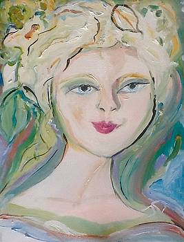 Lilly lovely ballerina  by Judith Desrosiers