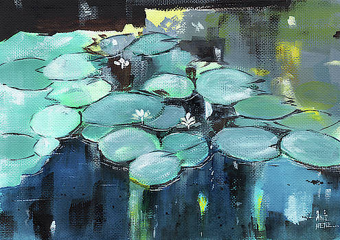 Lily Pond by Anil Nene