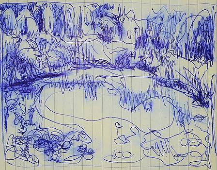 Lily Pond II by Aletha Kuschan