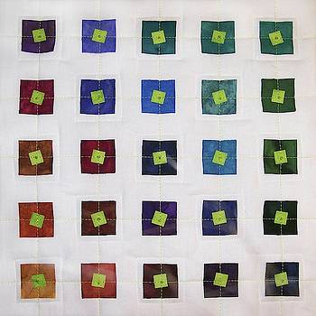 Lime Squares by Pam Geisel